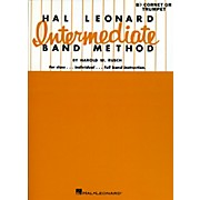 Hal Leonard Intermediate Band Method Bb Cornet Or Trumpet