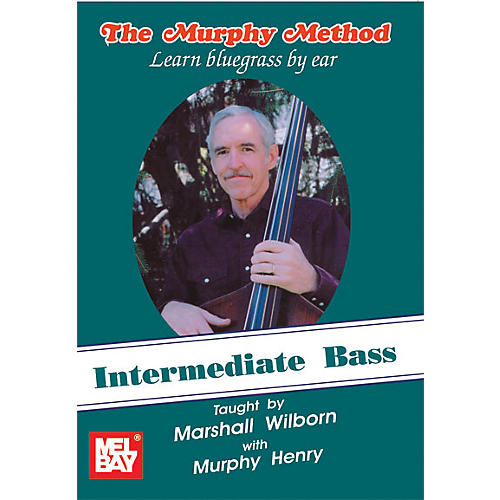 Mel Bay Intermediate Bass - Learn Bluegrass by Ear DVD-thumbnail