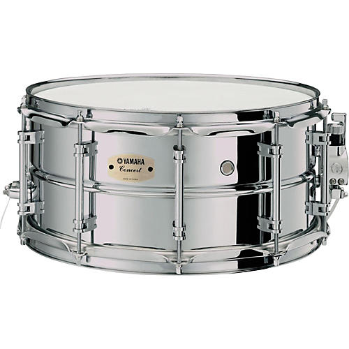 Yamaha Intermediate Concert Snare Drum; 1.2mm Chrome-Plated Steel Shell-thumbnail