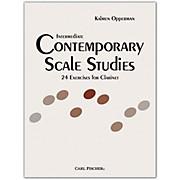 Carl Fischer Intermediate Contemporary Scale Studies - Clarinet