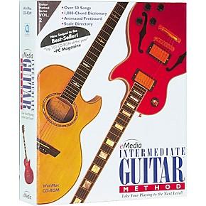 emedia intermediate guitar method volume 2 cd rom hybrid cd win mac guitar center. Black Bedroom Furniture Sets. Home Design Ideas