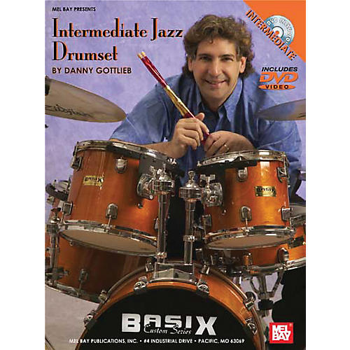 Mel Bay Intermediate Jazz Drumset DVD and Chart-thumbnail