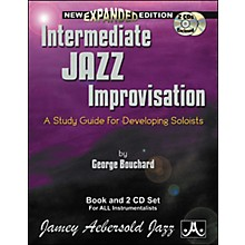 Jamey Aebersold Intermediate Jazz Improvisation Book and CDs