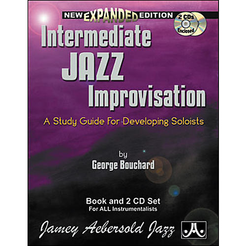 Jamey Aebersold Intermediate Jazz Improvisation Book and CDs-thumbnail