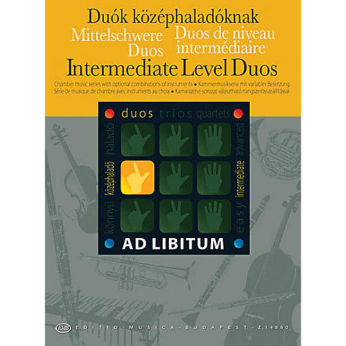 Editio Musica Budapest Intermediate Level Duos EMB Series by Various