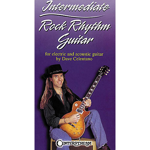 Centerstream Publishing Intermediate Rock Rhythm Guitar (VHS)-thumbnail