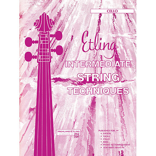 Alfred Intermediate String Techniques Cello-thumbnail
