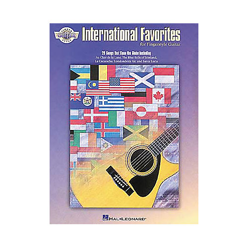 Hal Leonard International Favorites For Fingerstyle Guitar Book-thumbnail