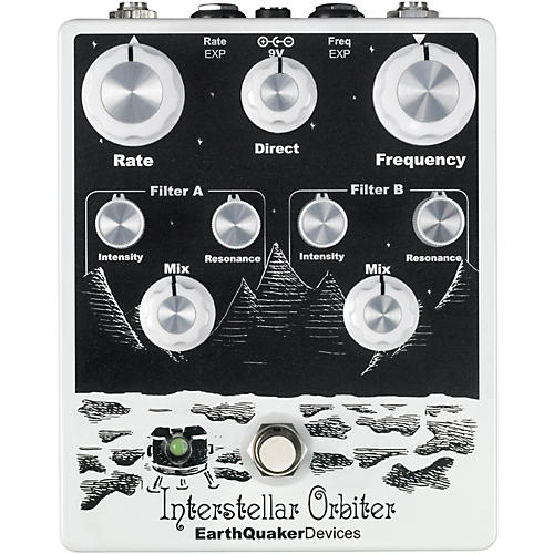 Earthquaker Devices Interstellar Orbiter Dual Resonant Filter Guitar Pedal