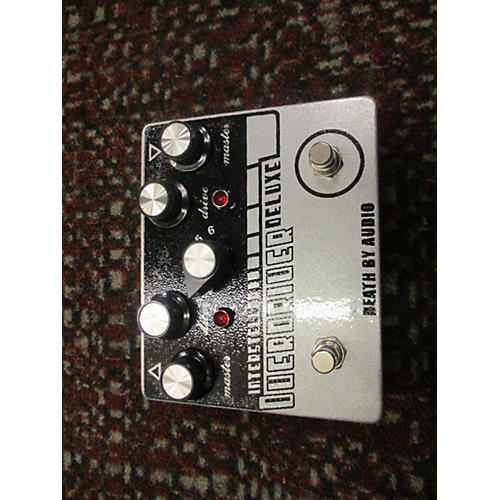 Death By Audio Interstellar Overdriver Deluxe Distortion Effect Pedal-thumbnail