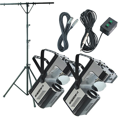 Musician's Gear Intimidator 2-Head DMX Scanner System
