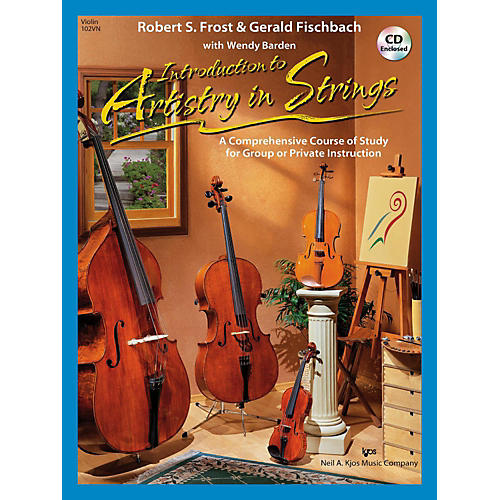 KJOS Introduction to Artistry in Strings - Violin-thumbnail