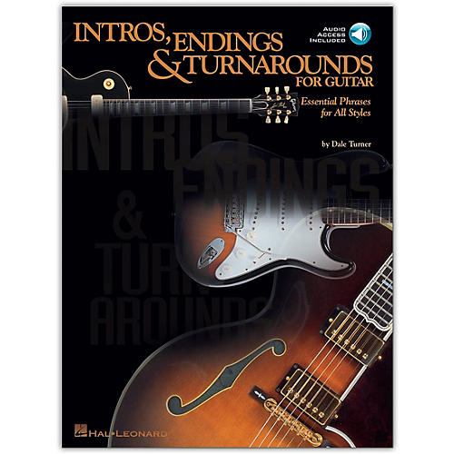 Hal Leonard Intros, Endings and Turnarounds for Guitar Book/Online Audio-thumbnail