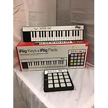IK Multimedia Irig Keys + Pads MIDI Controller