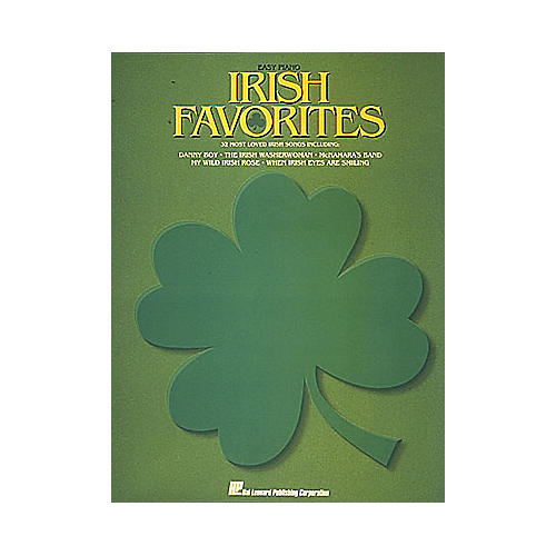 Hal Leonard Irish Favorites For Easy Piano