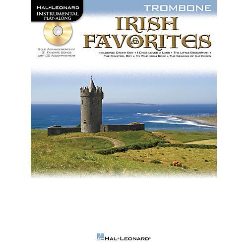 Hal Leonard Irish Favorites (Trombone) Instrumental Play-Along Series Softcover with CD