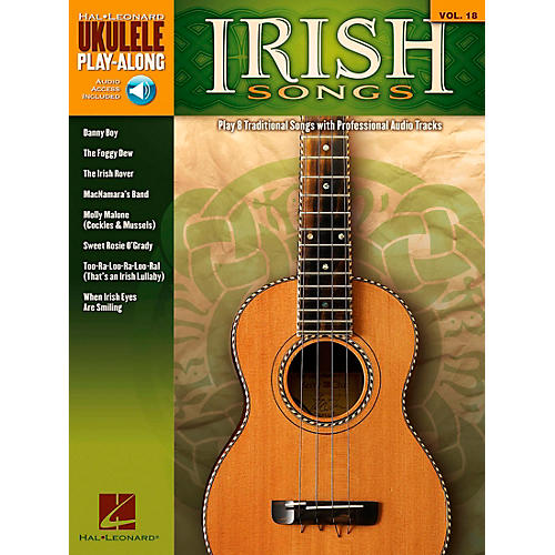 Hal Leonard Irish Songs - Ukulele Play-Along Volume 18 Book/CD-thumbnail