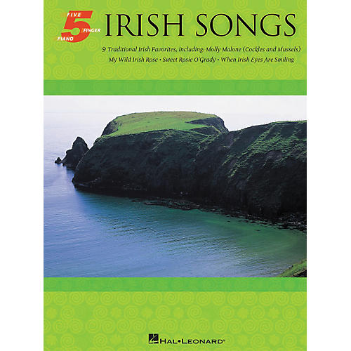 Hal Leonard Irish Songs For Five Finger Piano-thumbnail