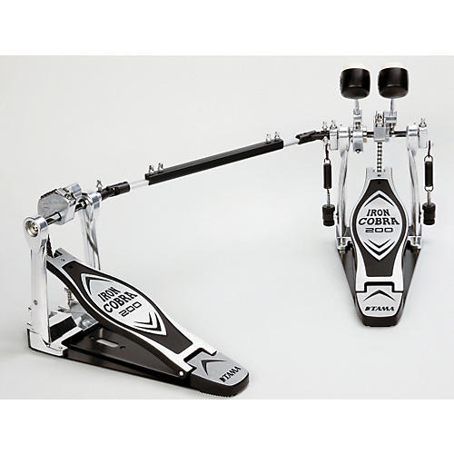 Tama Iron Cobra 200 Series Double Bass Drum Pedal-thumbnail