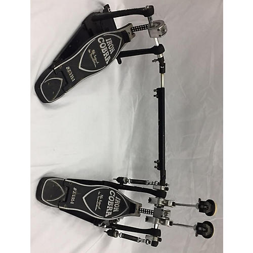 used tama iron cobra double bass pedal double bass drum pedal guitar center. Black Bedroom Furniture Sets. Home Design Ideas
