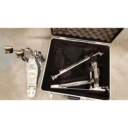 used tama iron cobra limited edition chrome double bass drum pedal guitar center. Black Bedroom Furniture Sets. Home Design Ideas