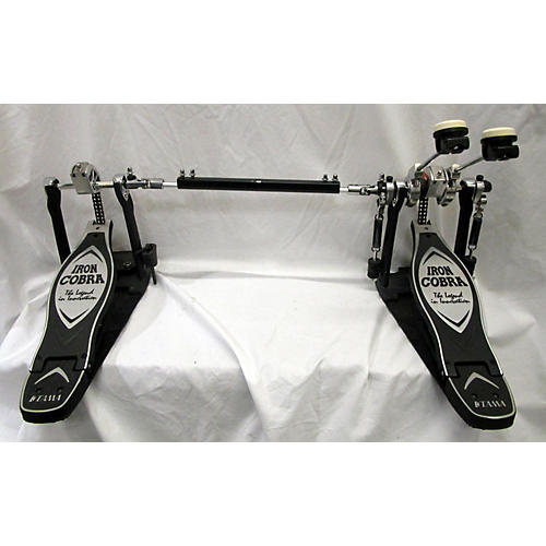used tama iron cobra power glide double bass drum pedal guitar center. Black Bedroom Furniture Sets. Home Design Ideas