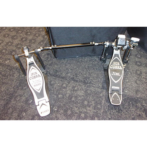 Tama Iron Cobra Twin Pedal 1/2 900, 1/2 600 Double Bass Drum Pedal-thumbnail