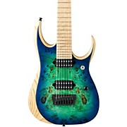 """Ibanez Iron Label RGD Series RGDIX7MPB 7-String Electric Guitar (26.5"""" scale)"""