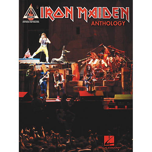 Hal Leonard Iron Maiden Anthology (Tab Songbook)-thumbnail
