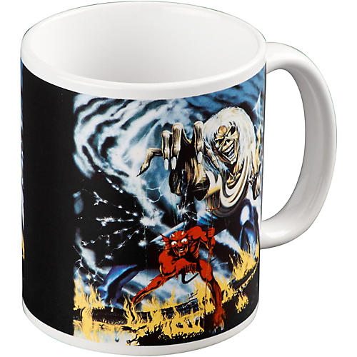 ROCK OFF Iron Maiden Number Of The Beast Mug-thumbnail