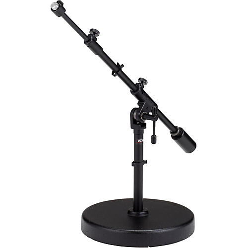 Tama Iron Works Studio Round Base Extra Low-Profile Telescoping Boom Stand