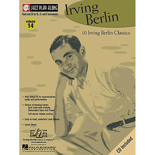 Hal Leonard Irving Berlin - Jazz Play Along Volume 14 Book with CD