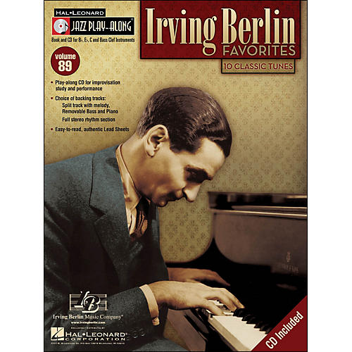 Hal Leonard Irving Berlin Favorites Jazz Play-Along Volume 89 Book/CD-thumbnail