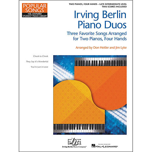 Hal Leonard Irving Berlin Piano Duos - Three Favorite Songs Arranged For 2 Pianos / 4 Hands