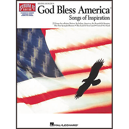 Hal Leonard Irving Berlin's God Bless America Strum It Guitar Chord Songbook-thumbnail