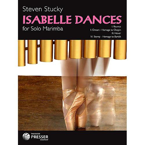 Theodore Presser Isabelle Dances - Marimba (Book)