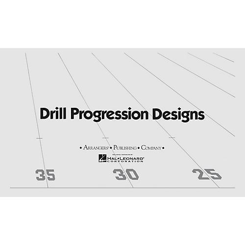 Arrangers Island Dance (Drill Design 43) Marching Band Level 3 Arranged by Robert Dubinski