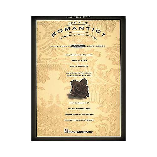 Hal Leonard Isn't It Romantic? Piano, Vocal, Guitar Songbook-thumbnail