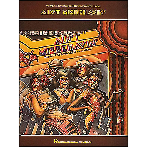 Hal Leonard Isn't Misbehavin' Vocal Selections From The Broadway Musical arranged for piano, vocal, and guitar (P/V/G)-thumbnail