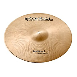 Istanbul Agop Traditional Medium Hi-Hat Cymbals (MH14)