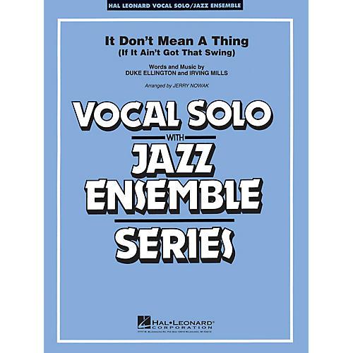 Hal Leonard It Don't Mean a Thing (Key: Cmi) Jazz Band Level 3-4
