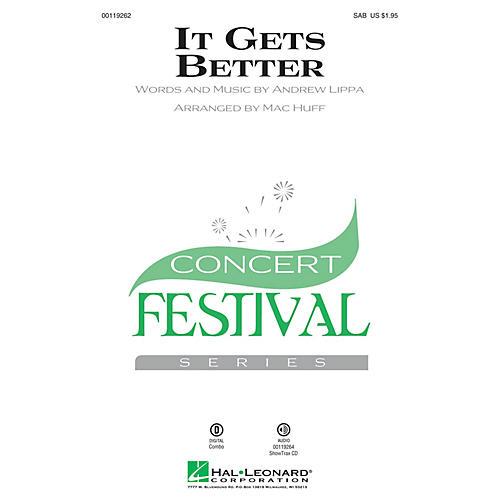 Hal Leonard It Gets Better SAB arranged by Mac Huff