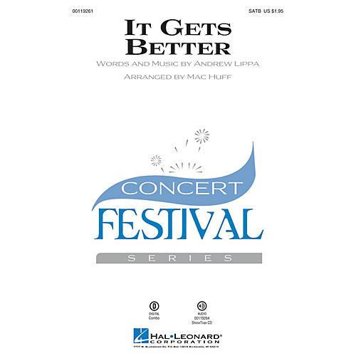 Hal Leonard It Gets Better ShowTrax CD Arranged by Mac Huff