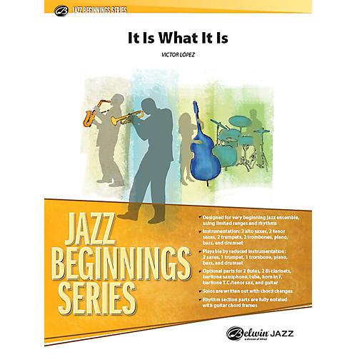 Alfred It Is What It Is Jazz Band Grade 1 Set