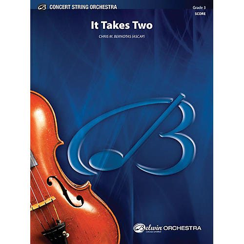 Alfred It Takes Two String Orchestra Grade 3-thumbnail