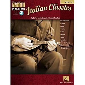 Hal Leonard Italian Classics Mandolin Play-Along Volume 7 Mandolin Play-A... by Hal Leonard