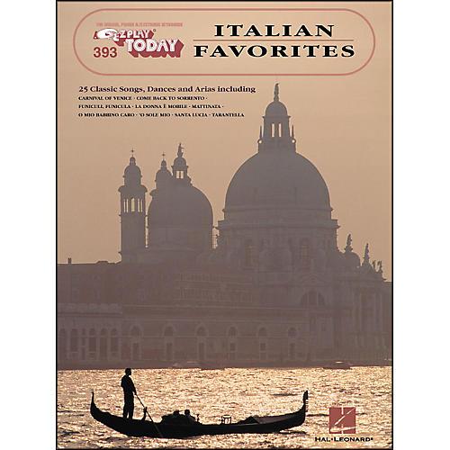 Hal Leonard Italian Favorites E-Z Play 393-thumbnail