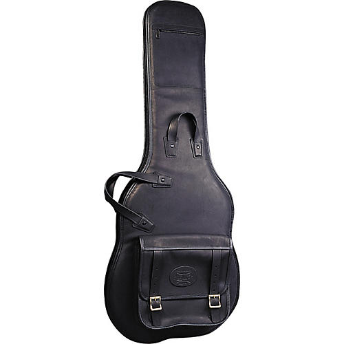 Levy's Italian Leather Electric Guitar Gig Bag Black