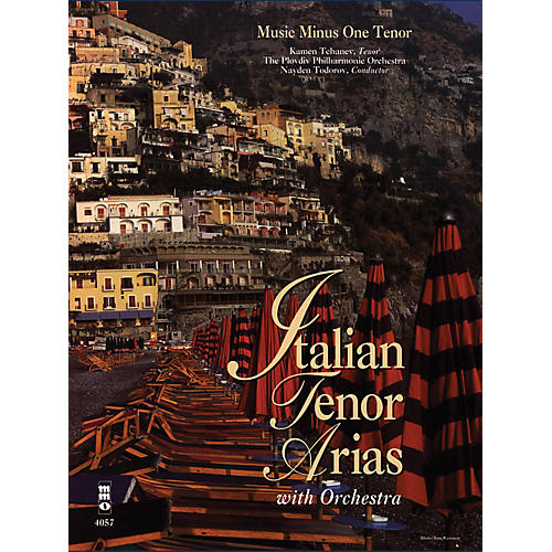 Music Minus One Italian Tenor Arias with Orchestra Music Minus One Series Softcover with CD  by Various
