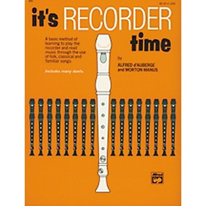 Alfred It's Recorder Time Book by Alfred
